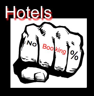 hotelsnobookingpurcentage
